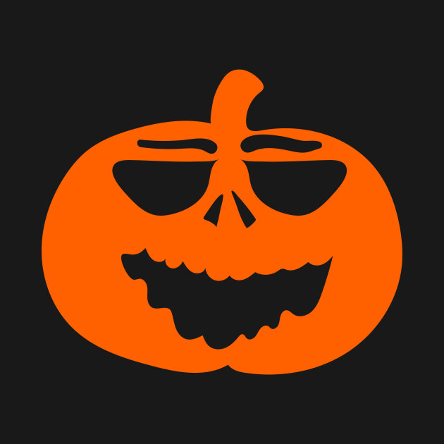 Halloween Funny Laughing Cartoon Pumpkin Face