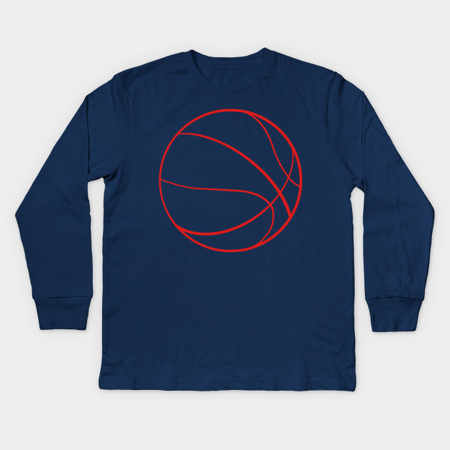 Basketball Outline Traine Red Basketball Outline Traine Red Kids