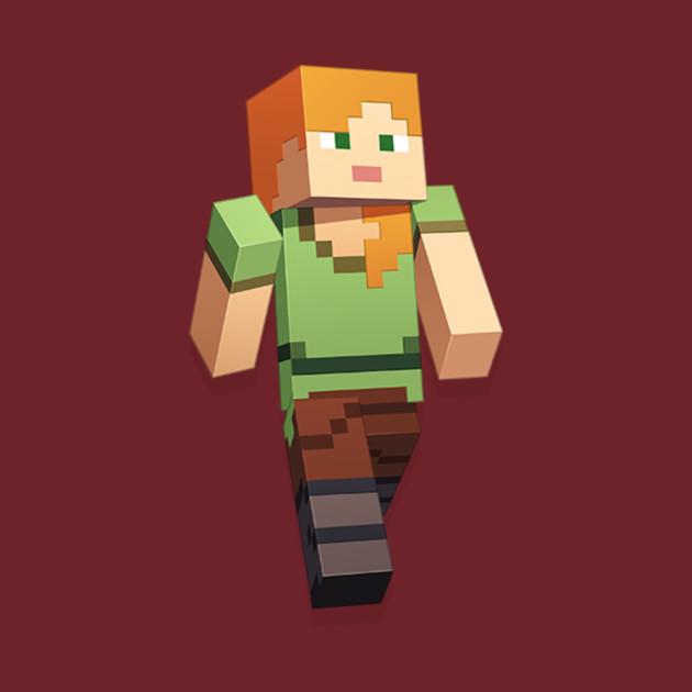 Minecraft Alex - Minecraft - T-Shirt | TeePublic
