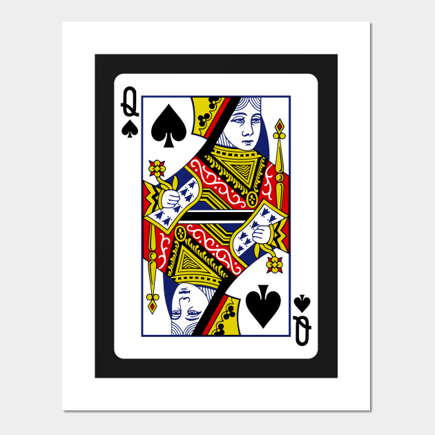 queen of spade card  Queen of Spades Playing Card