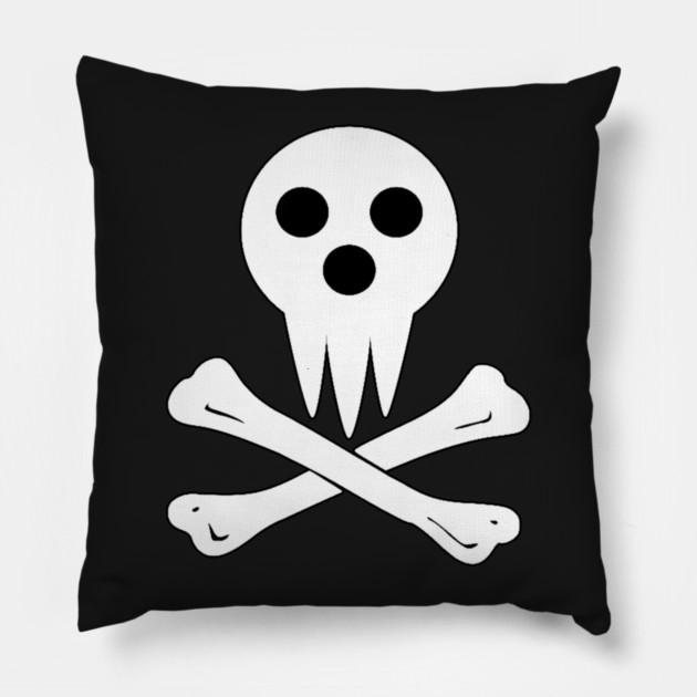 Soul Eater Lord Death Reaper Roger Anime Pillow Teepublic