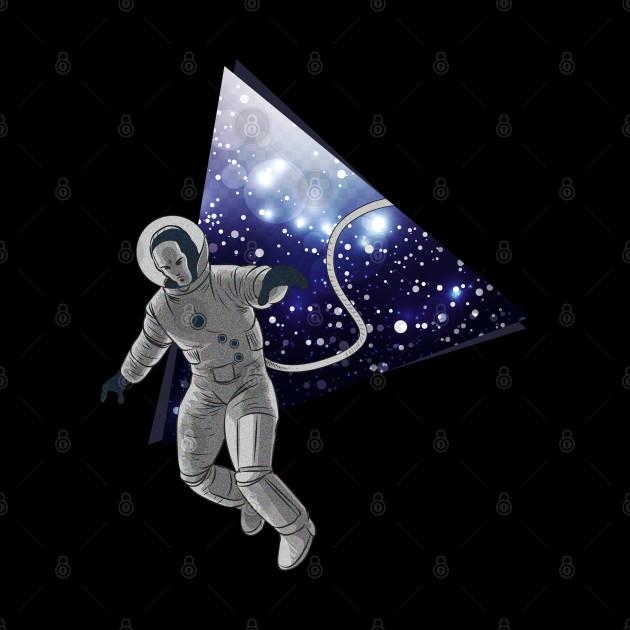3D Space Galaxy Astronaut