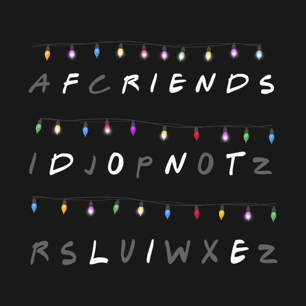 2148052 Friends Dont Lie Alphabet Christmas Lights Message on Baseball Alphabet C
