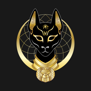Bastet Cat Goddess T-Shirts | TeePublic