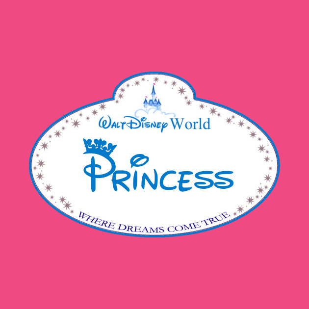 Disney World Princess Nametag