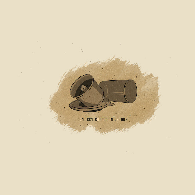 Street coffee in SaiGon