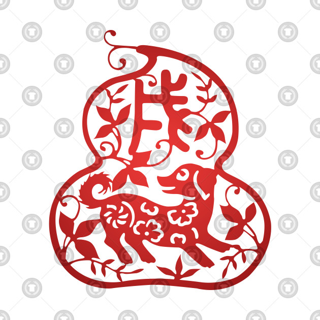 Chinese Zodiac ver.2 Dog in Red
