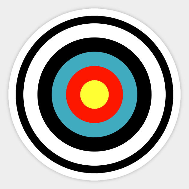It is a photo of Canny Printable Archery Targets