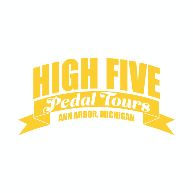 Maize Horizontal High Five Logo