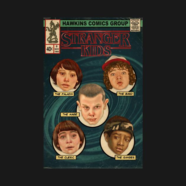 Stranger Kids Comic Cover