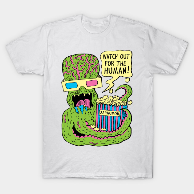 Alien Monster Movie T-Shirt-TOZ