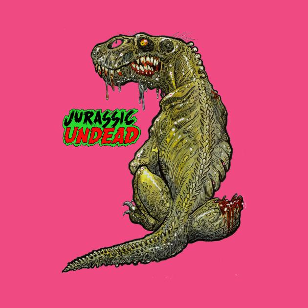 Dino Dog Zombie
