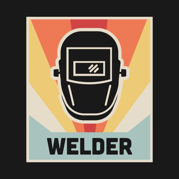 WELDER | Vintage 70s Welding Poster