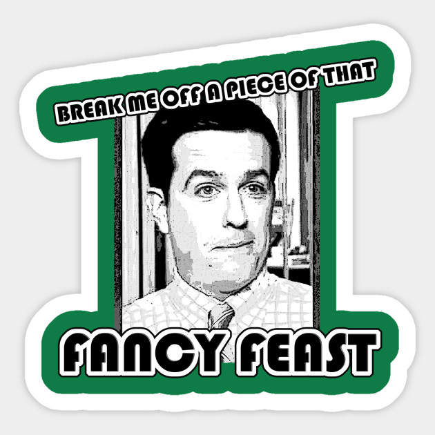 Fancy Feast Fancy Feast Sticker Teepublic Uk