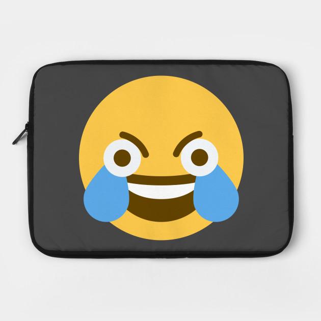 Open Eye Crying Laughing Emoji Emoji Meme Face