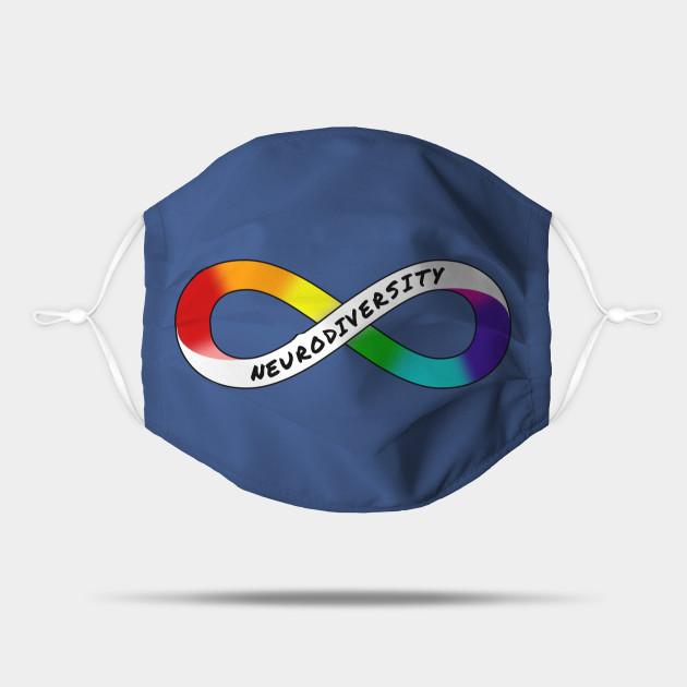 Neurodiversity Rainbow Infinity Socks