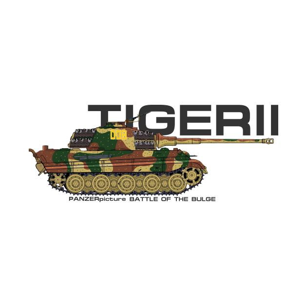 Tiger II T-Shirt Battle of the Bulge