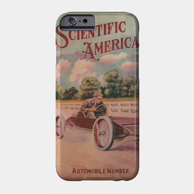 Artist Posters 0522 Scientific American Automobile number Phone Case