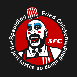 Captain Spaulding Fried Chicken and Gasoline SFC t-shirts