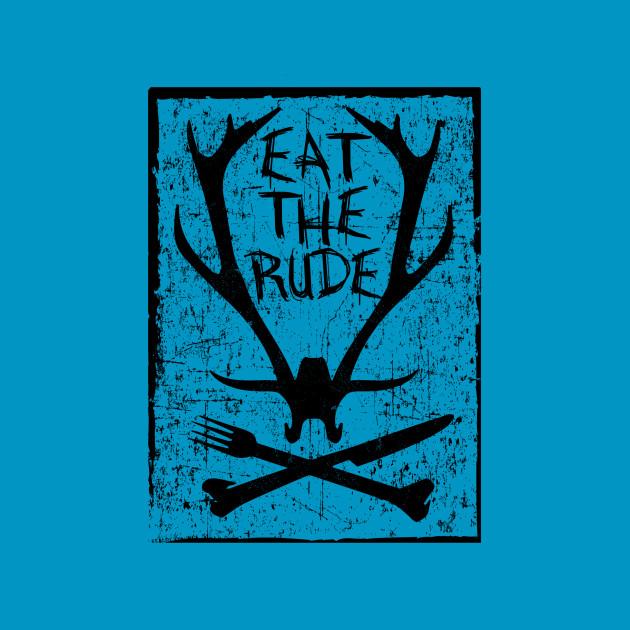 Eat The Rude - Hannibal (Black)