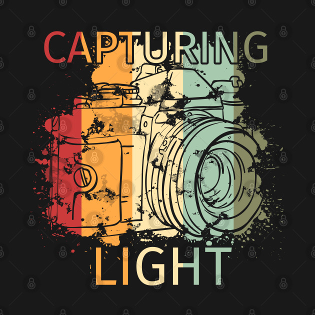 Retro Vintage Photography product Gift - Capturing Light