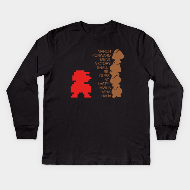 7b18f95f March Forward Men Video Game Shirt - Video Games - Kids Long Sleeve ...