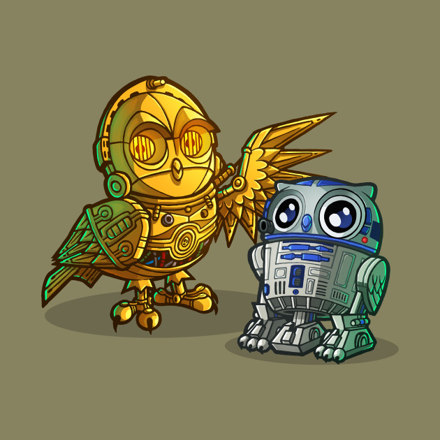R2hoo d2hoo and c 3p owlc 3p owl owl t shirt teepublic