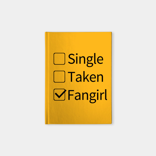 fangirl fangirl notebook teepublic