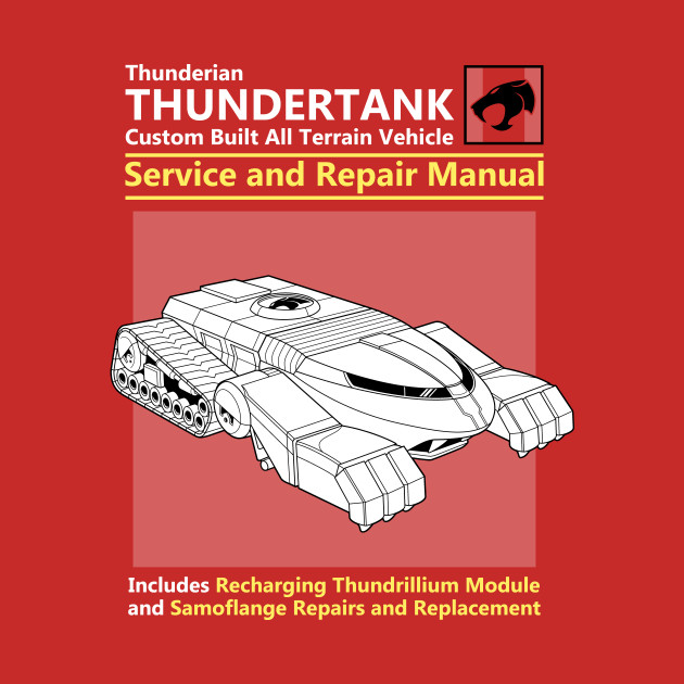 Thundertank Service And Repair Manual T-Shirt
