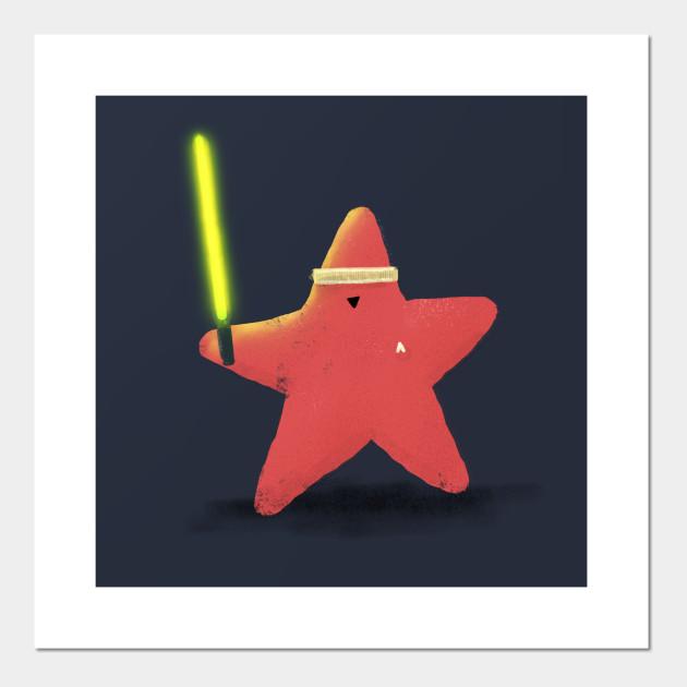 e0267143adf Starfish Trek Wars - Tropical - Posters and Art Prints