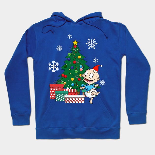 Tommy Rugrats Around The Christmas Tree Hoodie