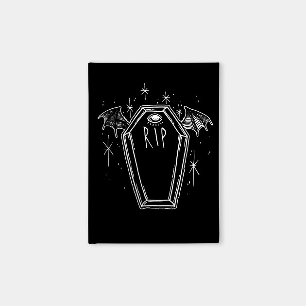 Drop Dead Beauty Coffin Notebook Teepublic