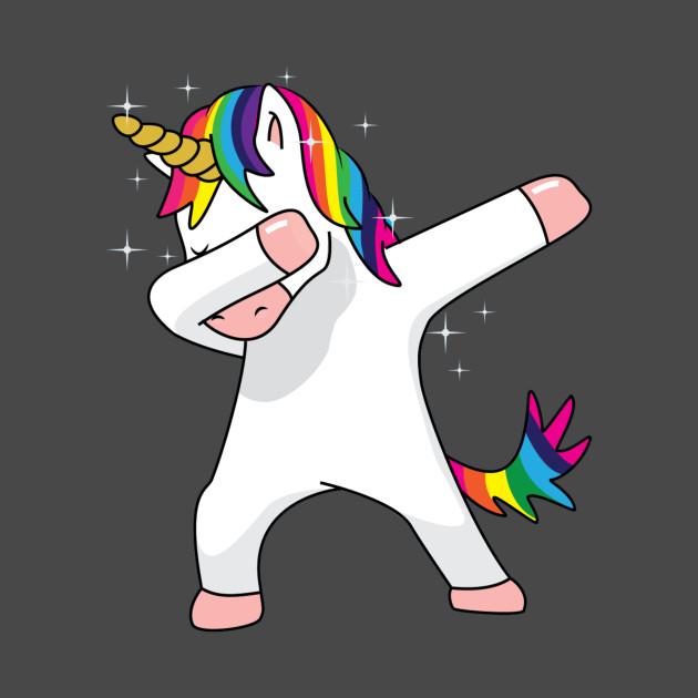 Cute unicorn dabbing shirt funny dab dance novelty gift t shirt for men women and kids dab - Unicorn dabbing pictures ...