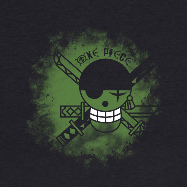 One Piece Logo (Zoro), Anime T-Shirt