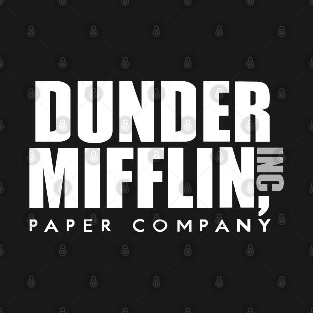 The Office TV Show Dunder Mifflin Paper