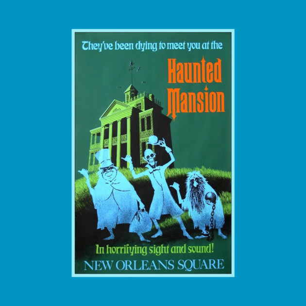 Haunted Mansion Attraction Poster (Disneyland)
