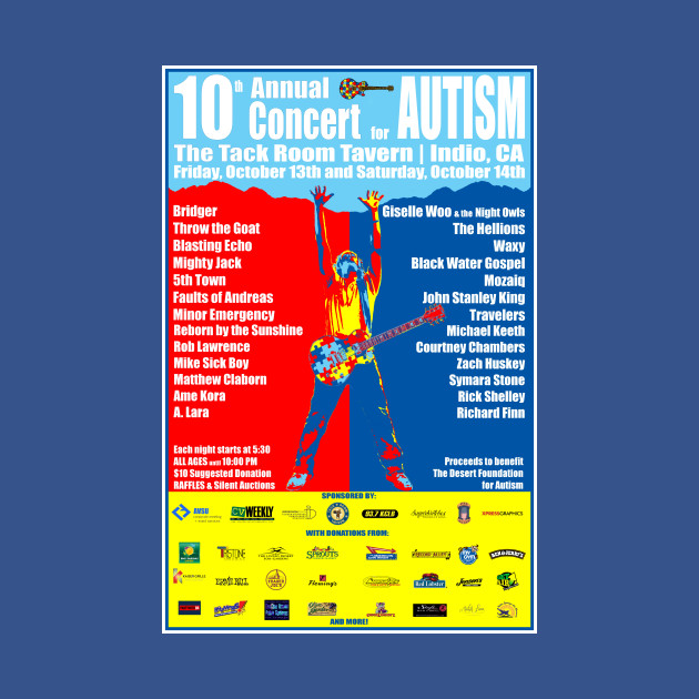 10th Annual Concert for Autism