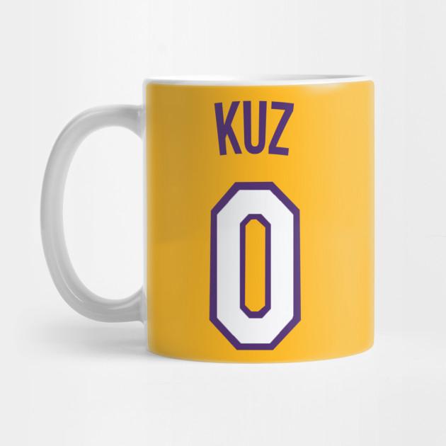 df93ff4cb26 Kyle Kuzma  KUZ  Nickname Jersey - Los Angeles Lakers - Nba - Mug ...