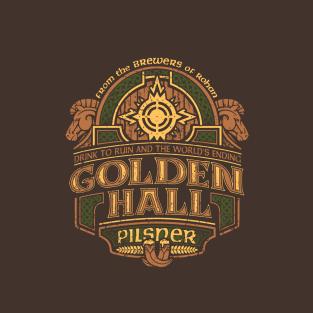 Golden Hall Pilsner t-shirts