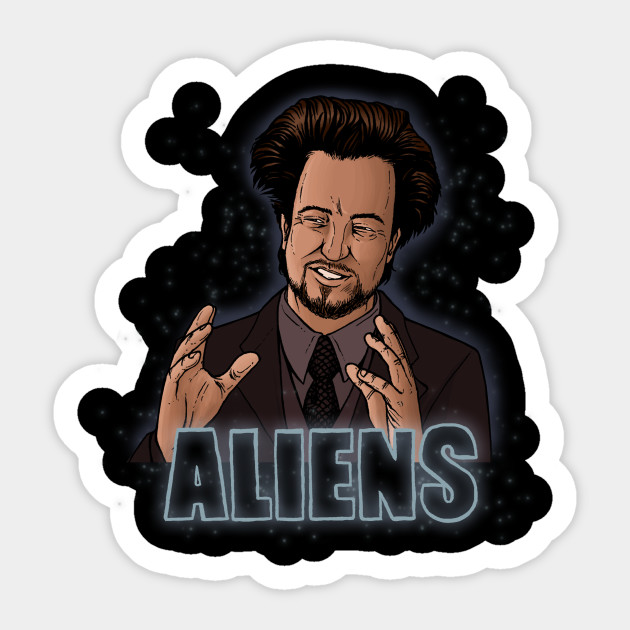 The Aliens Guy (Giorgio Tsoukalos) Color