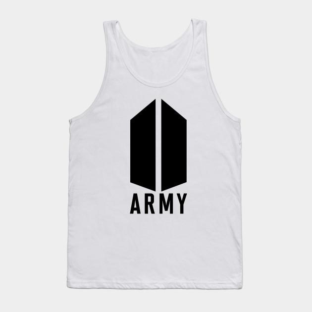 c3fa695f212f BTS ARMY Logo - Army Logo - Tank Top