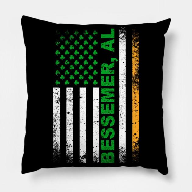 e0a174e65e Alabama - Irish American Flag Bessemer, AL T-Shirt