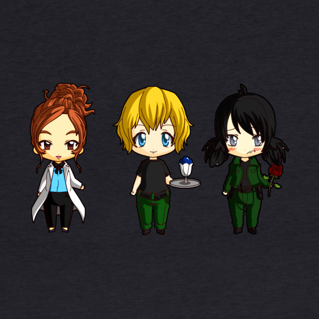 Chibi Stargate - Girl Power Lineup