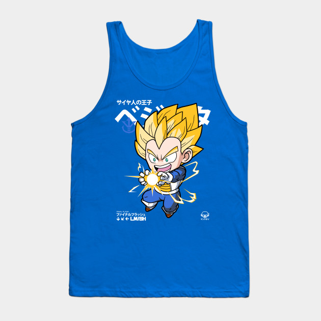 6ddfe2408 Chibi Final Flash - Vegeta - Tank Top | TeePublic