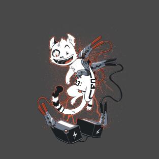 Cyber Cat t-shirts