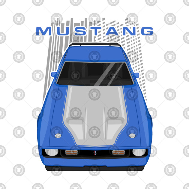 Mustang Mach 1 1971 to 1972 - Blue