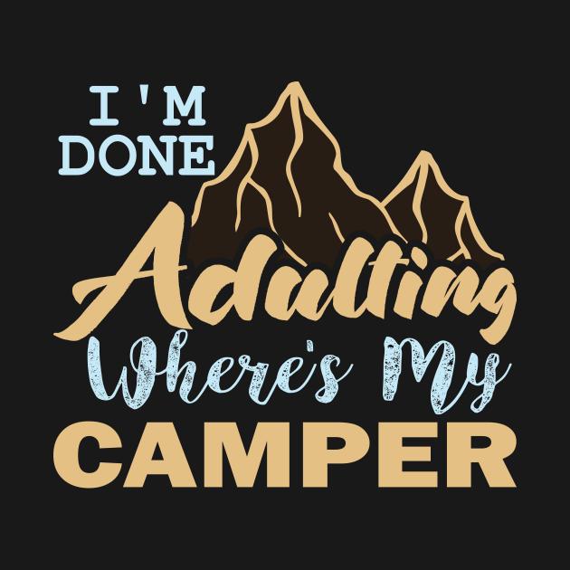 I,m Done Camper