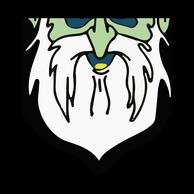 Gus Grinning Character Element Mask
