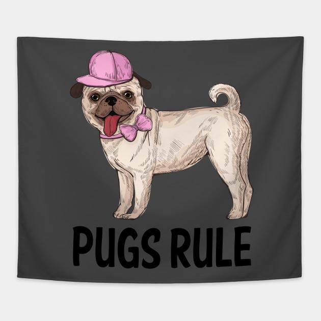 Pug Puppy Dog Cartoon - Love Puppies Dogs Rule