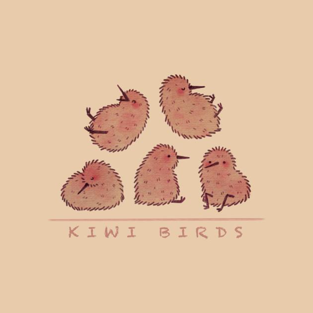 Cute Kiwi Birds